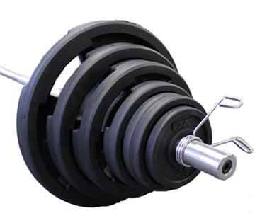 Troy Barbell VTX Rubber Olympic 300 lb. Weight Set